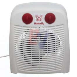Caloventor electrico Butterfly. 1000/2000 w. Termostato. Func Vent.