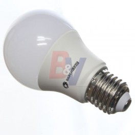 Lampara led E27 SilverLight. Luz fría - 20000 hs. 9,5 W.