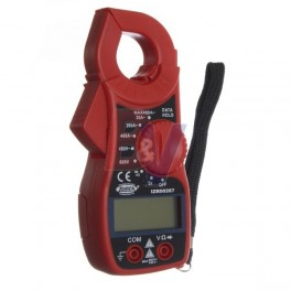 Pinza amperometrica digital Zurich. buzzer, data hold. ZR-287.